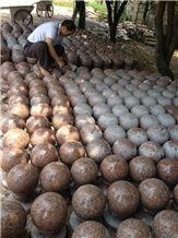 Red Granite Balls
