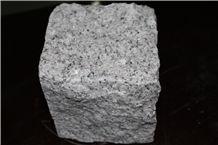 Light Grey Granite Cobblestone, Light Grey Cobblest,G603 Granite Cobble, Granite Split Cobblestone G603, G603 Grey Granite Cobblestone,G603 Lunar Pearl Light Grey Granite Sqaure Meshed Patio Pavers