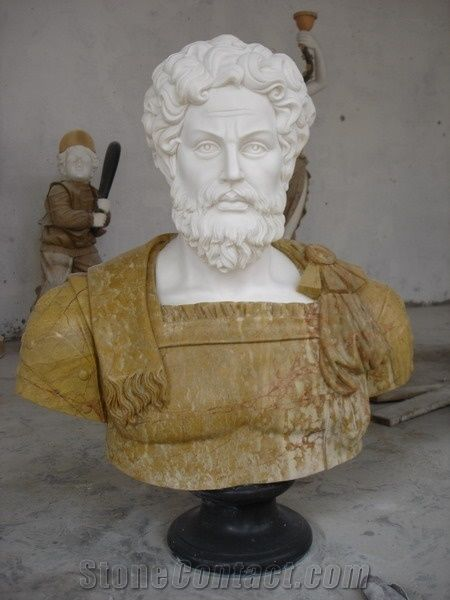 Custom Marble Busts For Sale Sculpture White Marble