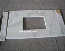 Calacatta White Marble Countertop
