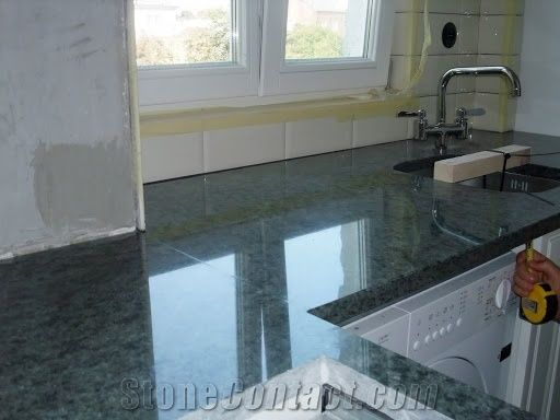 Verde Maritaca Granite Worktops Green Granite Kitchen