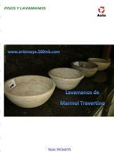 Sink in Travertino Jalapa, Travertino Jalapa Beige Travertine Sink