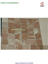 Uxmal, Maya Cream Mosaic, Maya Cream Red Limestone Mosaic