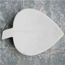 White Marble Soap Dish/Bath Accessories