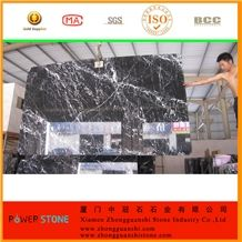 China Nero Marquina Marble with Perfect Prices