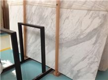White Volakas Marble Slabs,Tiles