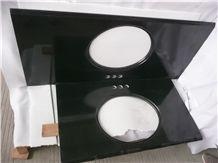 Absolute Black Granite Vanity, Absolute Black Granite Bath Tops