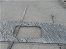 China Juparana Grey Granite Countertop 221376