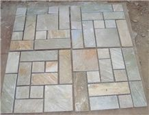 French Pattern Quartzite with Multicolor