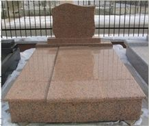 Red Granite Monument & Tombstone