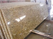 Santa Cecilia Countertop, Santa Cecilia Yellow Granite Countertop