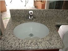 Tiger Skin Red Granite Vanity Top, Tiger Skin Red Granite Bath Tops