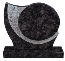 Leeste Black Granite Tombstones