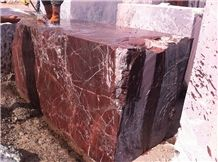 Rosso Levanto Marble Blocks, Turkey Red Marble