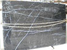 Persian Black Marble Slab Nero Marquina