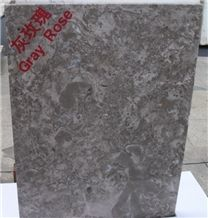 Gray Rose Polished Marble Tile