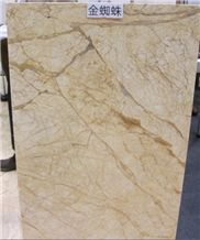 Spider Gold Marble