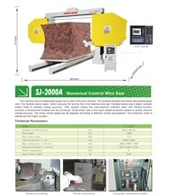 Numerical Control Wire Saw-Stone Cutting Machine