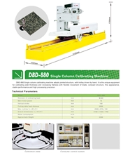 Stone Calibrating Machine - Granite&Marble Process