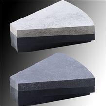 Triangle Buff- Triangle Abrasive Black Buff Fan Sh