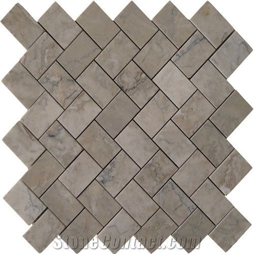 Temple Grey Marble Mosaic Tile From China Stonecontact Com