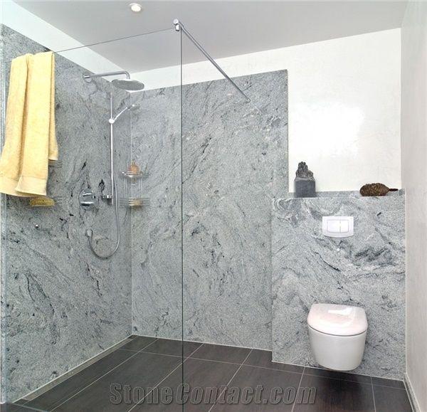 Silver Galaxy Bathroom Design Shower Silver Galaxy Grey Granite Magnificent Granite Bathroom Designs