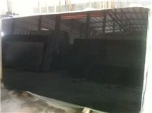 Absolute Black Granite Slabs, China Black Granite