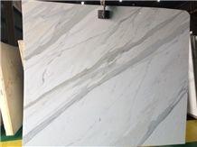Calacatta Oro Marble Slabs, Italy White Marble