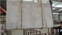 Wooden White Cross-Cut Slab, China Grey Marble