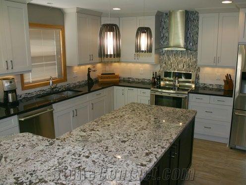 Granite Kitchen Countertop Kitchen Design Dallas White