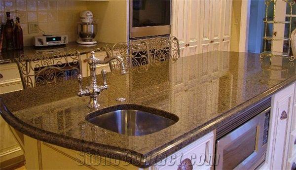 Bon Tropical Brown Granite Countertop
