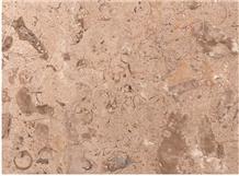 Breccia Khatmia Limestone Tiles, Egypt Beige Limestone