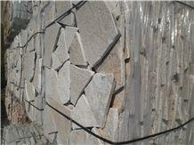 White Quartzite Antiqued Flagstone