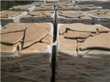 Yellow Quartzite Natural Flagstone