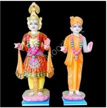 Swami Narayan God Statues, Indo Italian White Marble Statues