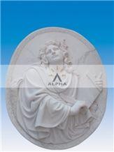 Danba White Marble Reliefs