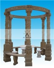Yellow Sandstone Gazebo