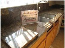 Juparana Vyara Kitchen Countertop, Juparana Vyara Granite Kitchen Countertops