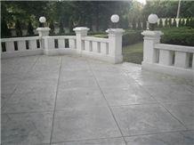 Champagne Grey Limestone Terrace Pavement