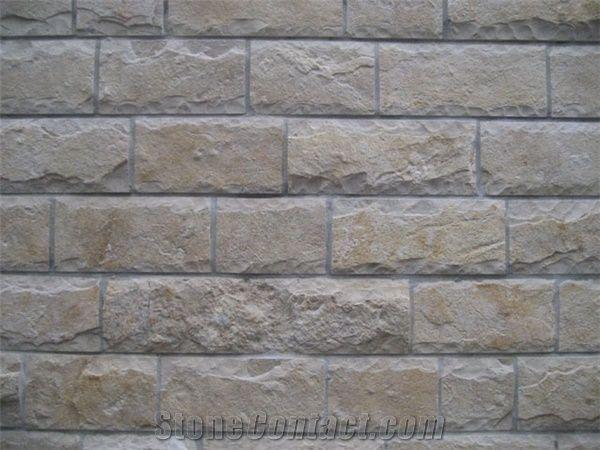 Limestone Wall Cladding Milovaca Beige Limestone Mushroom