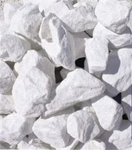 Marble Chips, Marble Pebbles, Calcite Dolomit White Marble Pebbles