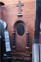 Syuskyu Yansaary Red Granite Monument