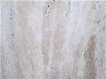 Chocolate Leather Kashan Travertine Tiles, Slabs