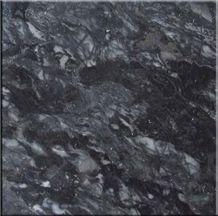 Vietnam Black Marble, Dark Palm Black Marble Slabs & Tiles