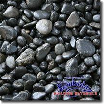 Black Marble Polished Pebble
