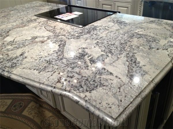 Iceberg Web White Ice Granite Countertop From United