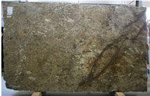 Amaretto Granite Slabs, Brazil Yellow Granite