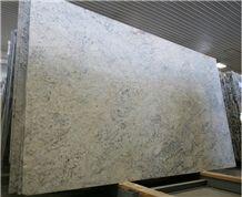 Bianco Romano Granite Slabs, Brazil White Granite