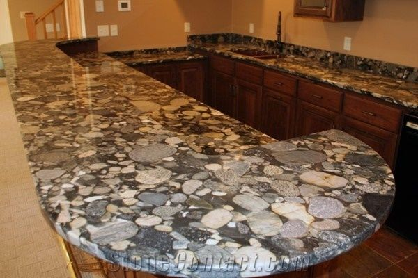 Jurassic Black Granite Countertops Black Mosaic Granite