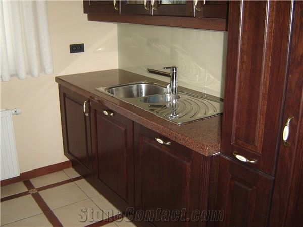 Africa Red Granite Kitchen Countertop From Slovenia Stonecontact Com